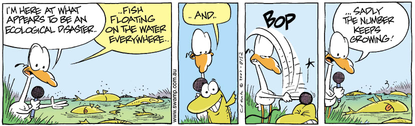 Swamp Cartoon - Swamp Disaster 4October 25, 2007