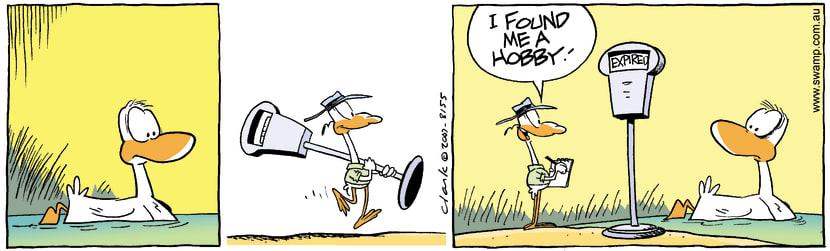Swamp Cartoon - New Hobby 1October 29, 2007