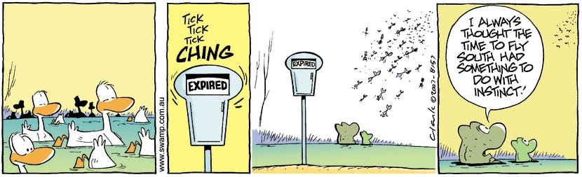 Swamp Cartoon - New Hobby 3October 31, 2007