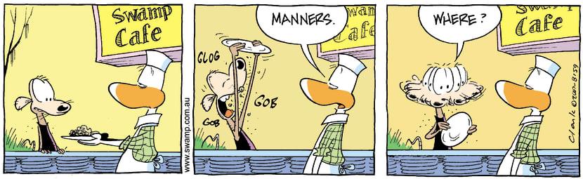 Swamp Cartoon - Chives Rat Dining ExperienceNovember 2, 2007