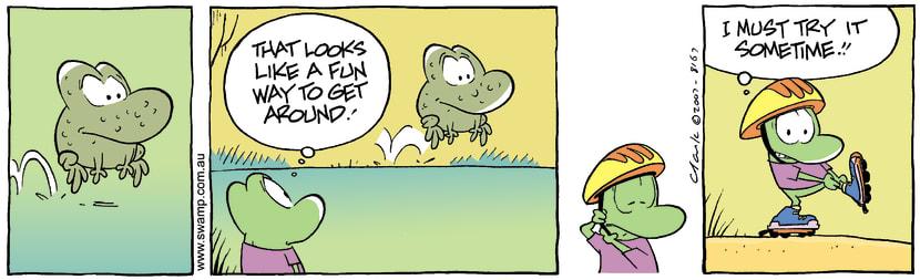 Swamp Cartoon - Travel ModeNovember 10, 2007
