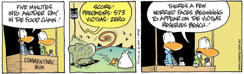 Swamp Cartoon - Commentary Box 2November 13, 2007