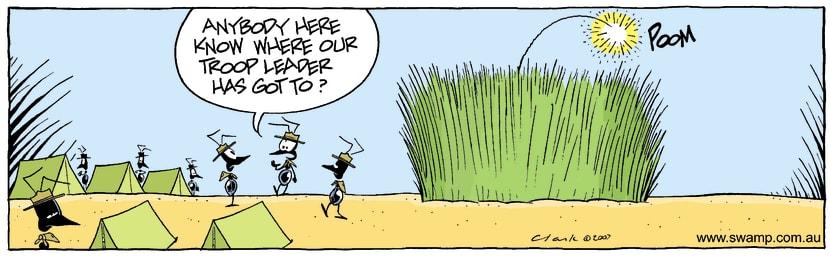 Swamp Cartoon - Needing HelpNovember 20, 2007