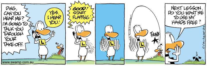 Swamp Cartoon - Communication Fun 3November 26, 2007