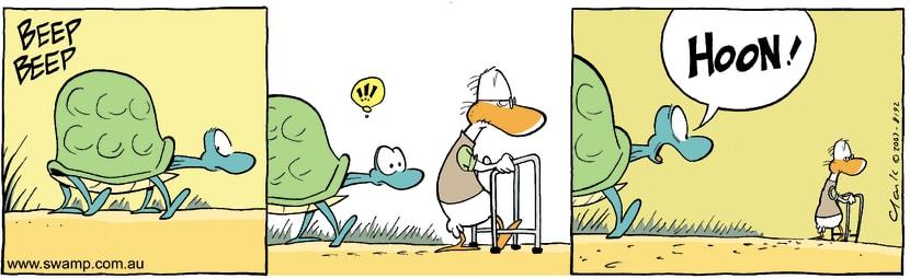Swamp Cartoon - Speed NutDecember 11, 2007