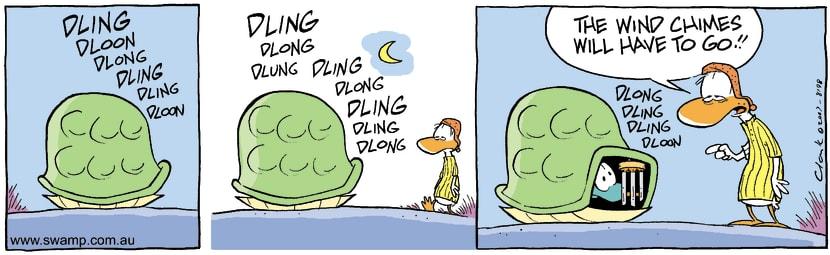 Swamp Cartoon - Wake up call againDecember 18, 2007