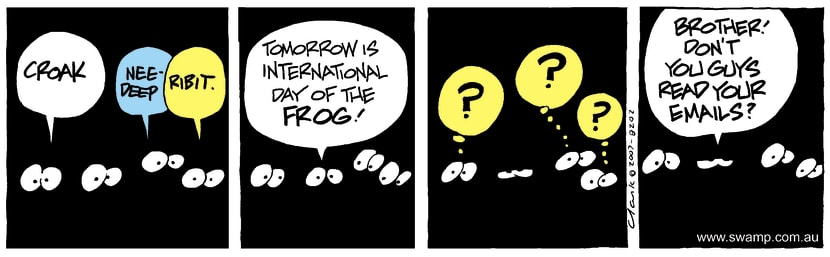 Swamp Cartoon - Poor CommunicationDecember 22, 2007