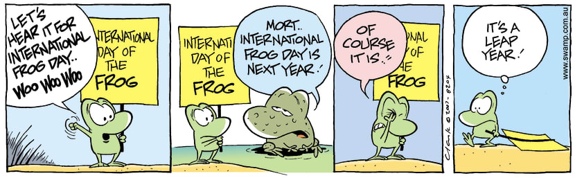 Swamp Cartoon - Special Day 2December 25, 2007