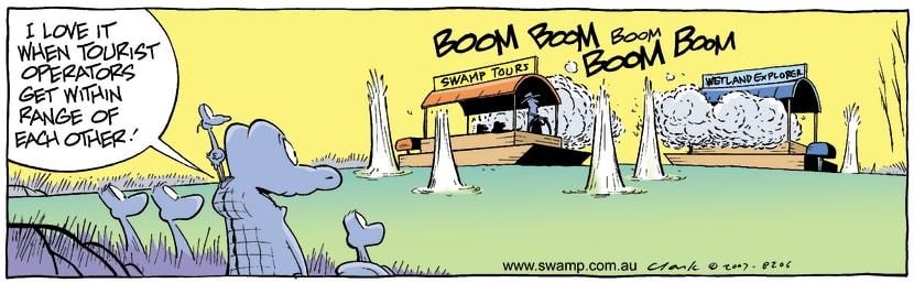 Swamp Cartoon - Warfare Swamp styleDecember 27, 2007