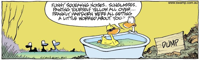 Swamp Cartoon - Alternative LifestyleDecember 28, 2007
