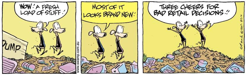 Swamp Cartoon - Junk Goodies 1December 31, 2007