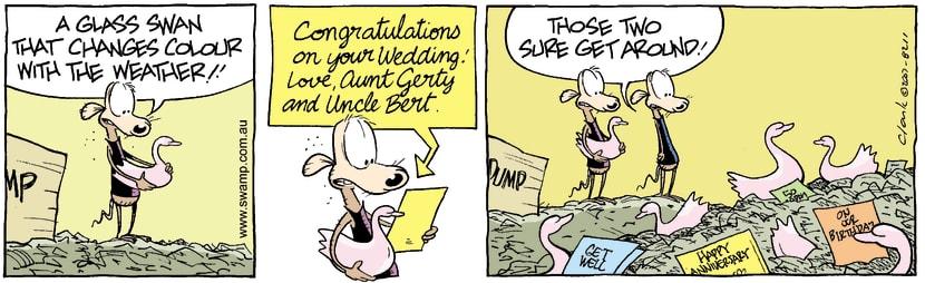 Swamp Cartoon - Junk Goodies 2January 1, 2008