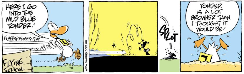 Swamp Cartoon - Poor effortJanuary 4, 2008