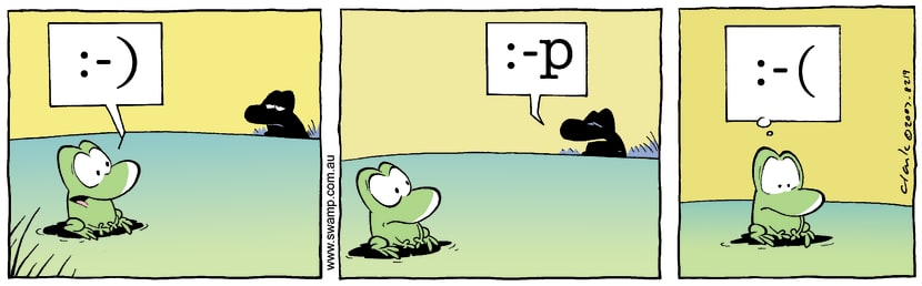 Swamp Cartoon - Its a signJanuary 10, 2008