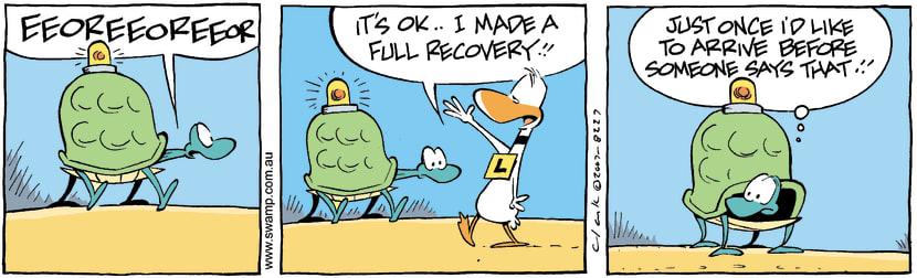Swamp Cartoon - Full recoveryJanuary 19, 2008