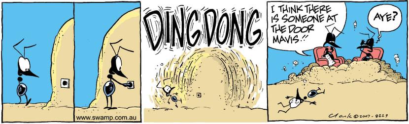 Swamp Cartoon - The salesmanJanuary 22, 2008