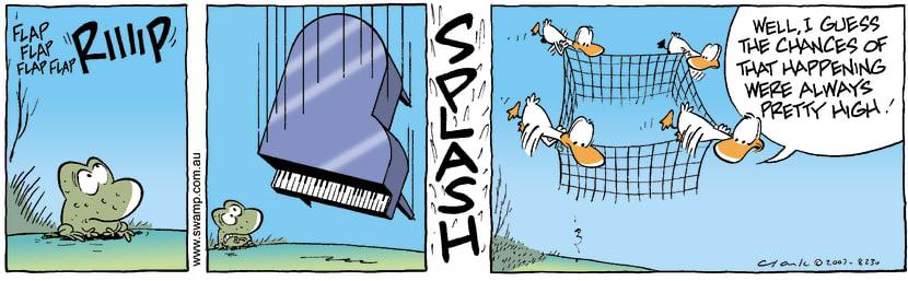 Swamp Cartoon - FreefallingJanuary 23, 2008