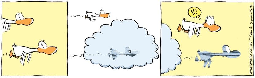 Swamp Cartoon - Flying PhantomJanuary 29, 2008