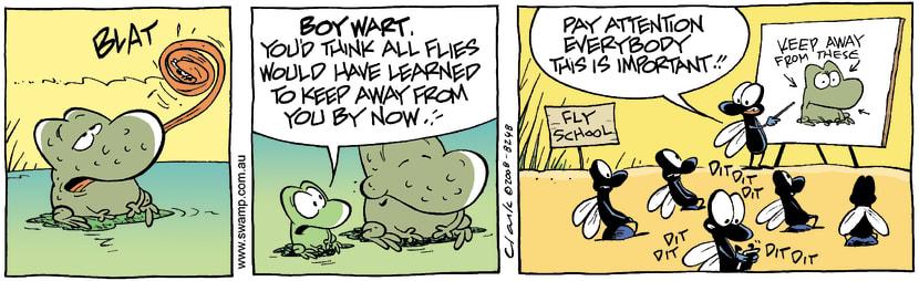 Swamp Cartoon - The FoolishFebruary 13, 2008