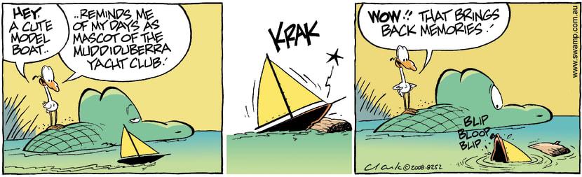 Swamp Cartoon - Anchors AwayFebruary 18, 2008