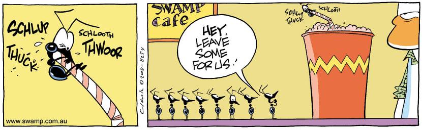 Swamp Cartoon - Taking TurnsFebruary 20, 2008