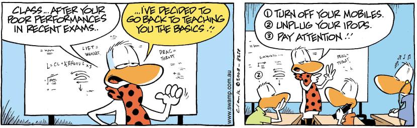 Swamp Cartoon - ChecklistFebruary 25, 2008