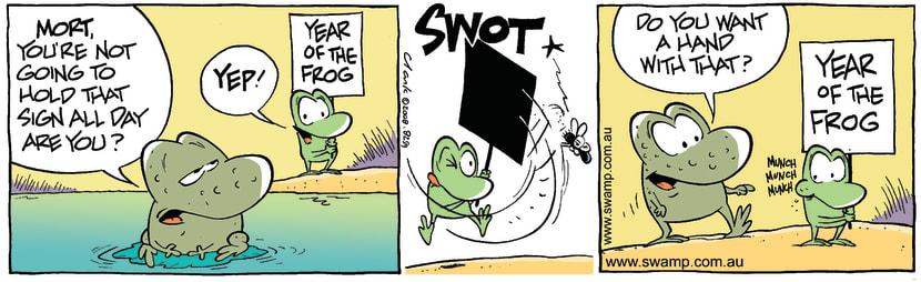 Swamp Cartoon - Change of MindFebruary 26, 2008