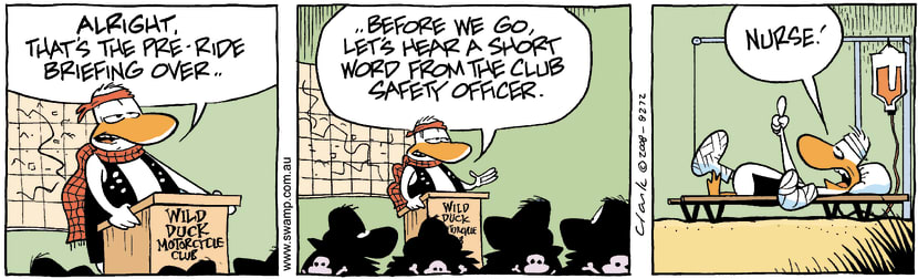Swamp Cartoon - Club Fun 1March 12, 2008