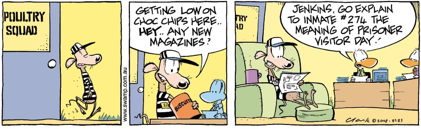Swamp Cartoon - Prison Life 1March 25, 2008