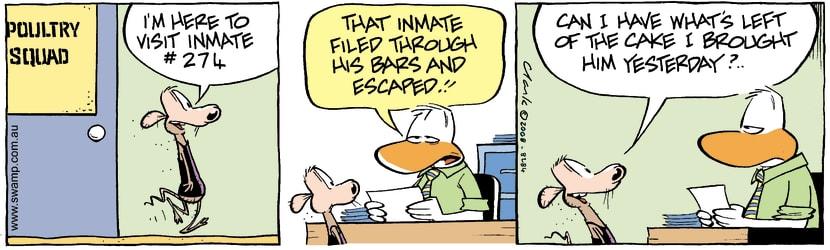 Swamp Cartoon - Prison Life 2March 26, 2008