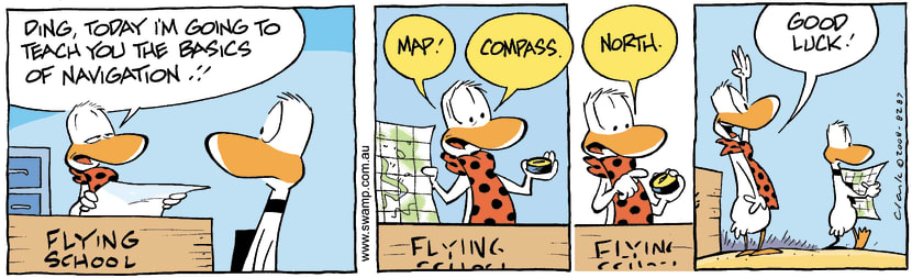 Swamp Cartoon - Navigation 2March 29, 2008