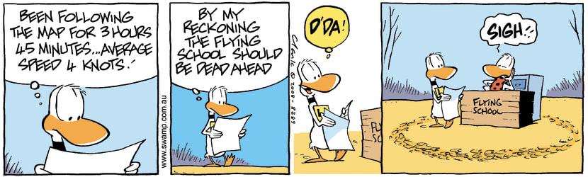 Swamp Cartoon - Navigation 4April 1, 2008