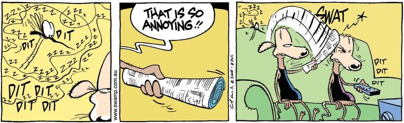 Swamp Cartoon - Low ToleranceApril 16, 2008
