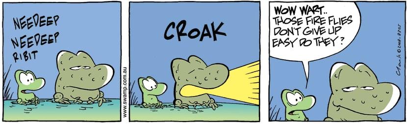 Swamp Cartoon - Night lightApril 19, 2008
