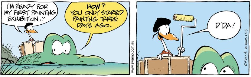 Swamp Cartoon - Beauty is in the eye 4May 3, 2008
