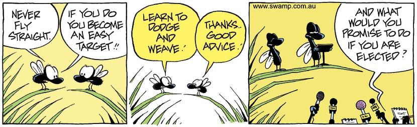 Swamp Cartoon - Good AdviceMay 6, 2008