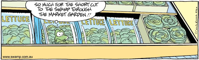 Swamp Cartoon - In the Bag 1May 7, 2008