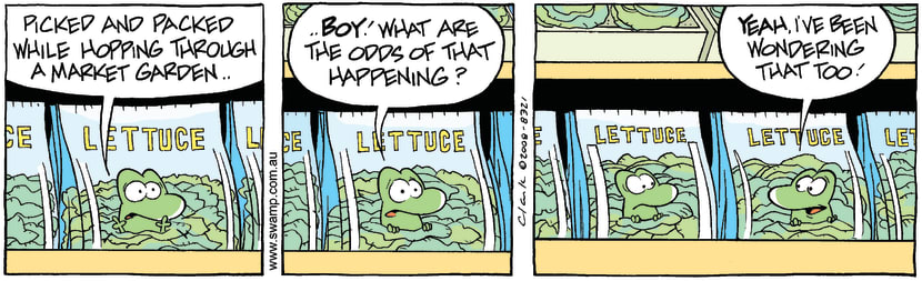 Swamp Cartoon - In the Bag 2May 8, 2008