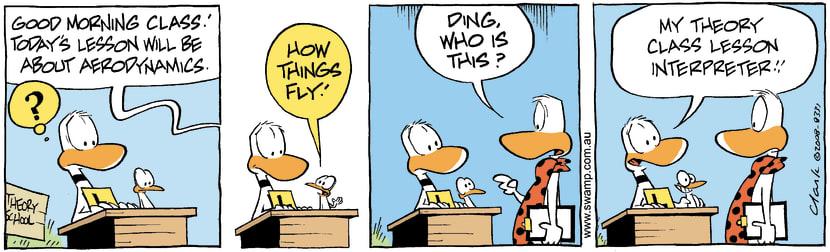 Swamp Cartoon - A little Helper 1May 20, 2008