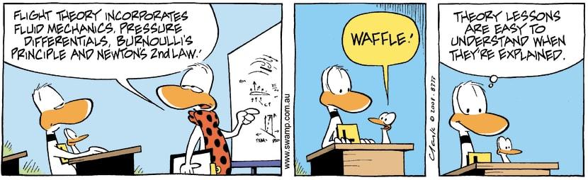 Swamp Cartoon - A little Helper 3May 22, 2008