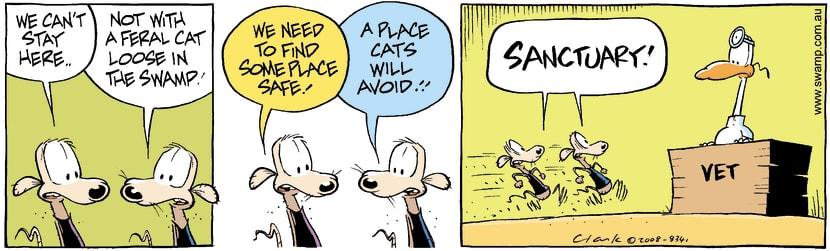 Swamp Cartoon - Fear Factor 4May 31, 2008
