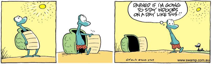 Swamp Cartoon - Too good to missJune 10, 2008