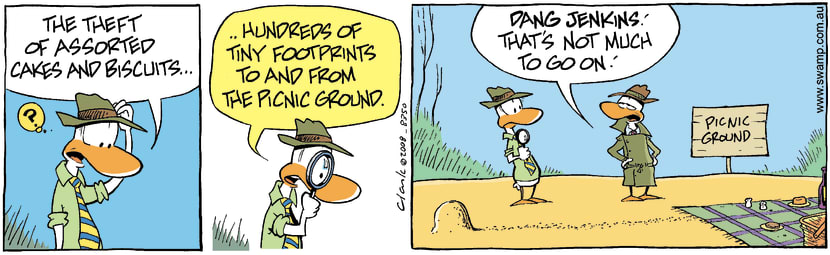 Swamp Cartoon - Poultry Squad in Action 1June 11, 2008