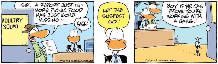 Swamp Cartoon - Suspiscious Minds 1June 12, 2008