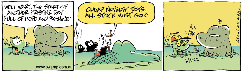 Swamp Cartoon - Novelty MomentJune 13, 2008