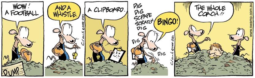 Swamp Cartoon - Poor SportJune 23, 2008