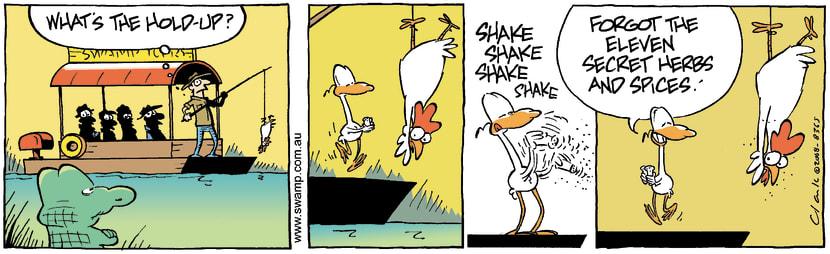 Swamp Cartoon - Cooking  TipsJune 28, 2008