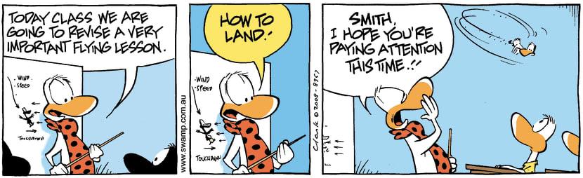 Swamp Cartoon - Poor Learner 1July 1, 2008