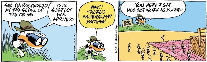 Swamp Cartoon - The Big Heist 2July 9, 2008