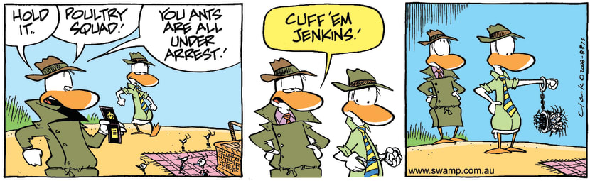 Swamp Cartoon - The Big Heist 3July 10, 2008